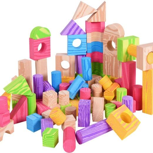 Bloques de construcción de espuma para niños.