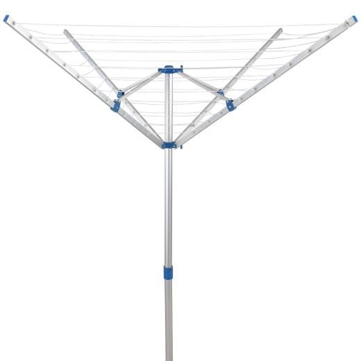 Tendedero de pie plegable, 150x180cm, 4 brazos.