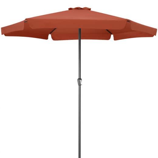 Sonnenschirm Terrakotta Ø330cm UV-Schutz 50+