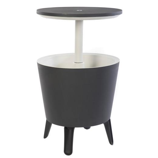 Getränkekühler Anthrazit/Weiß Ø50cm 30L