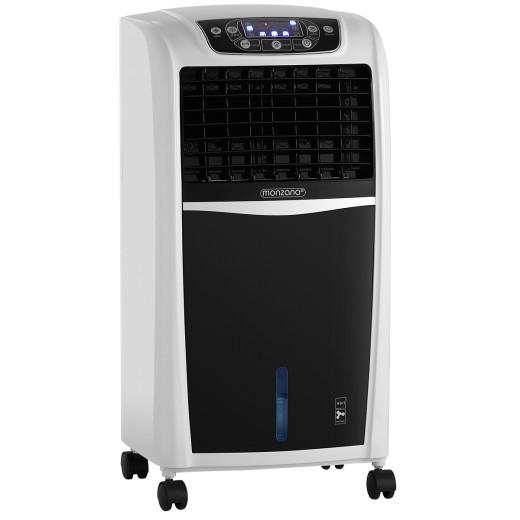 Mobiles Klimagerät Weiß/Schwarz 8L