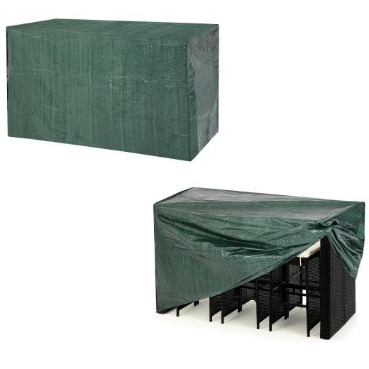 Abdeckung Barset Grün 187x86x112cm