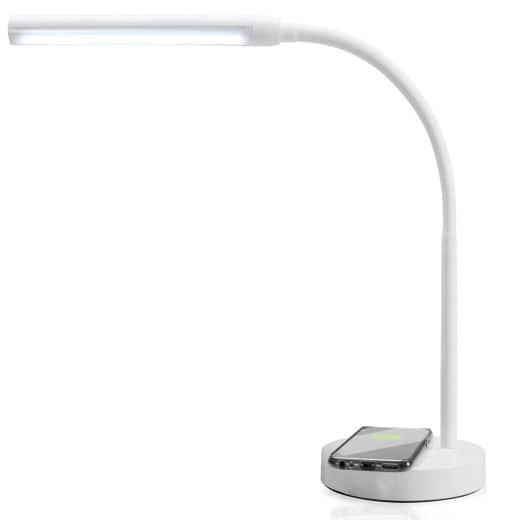 LED Schreibtischlampe induktive Ladestation ohne Kabel