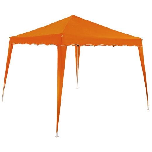 Faltpavillon Capri - Popup 3x3m orange