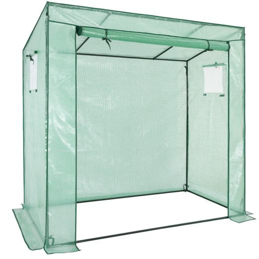 Gardebruk Foliengewächshaus in grün/transparent 200x173x80cm