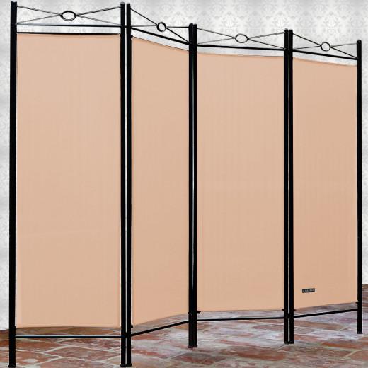 Paravent in Rosé 180x163cm