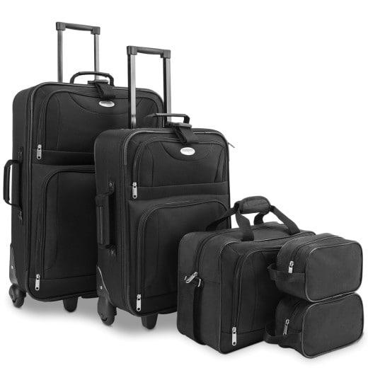 Conjunto de equipaje de viaje 5 piezas.