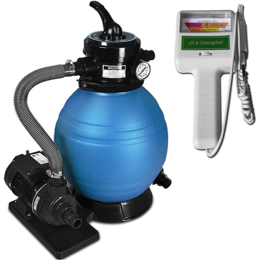 Depuradora 10.200 l/h, bomba de filtro de arena.
