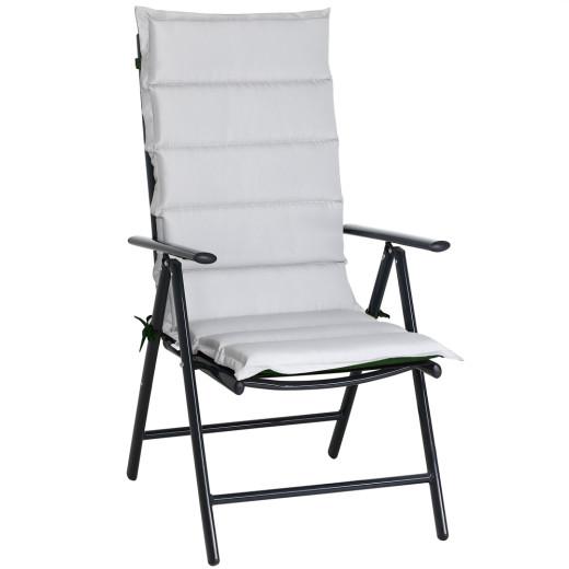 Set de 6 Cojines para sillas Vanamo Gris/Verde