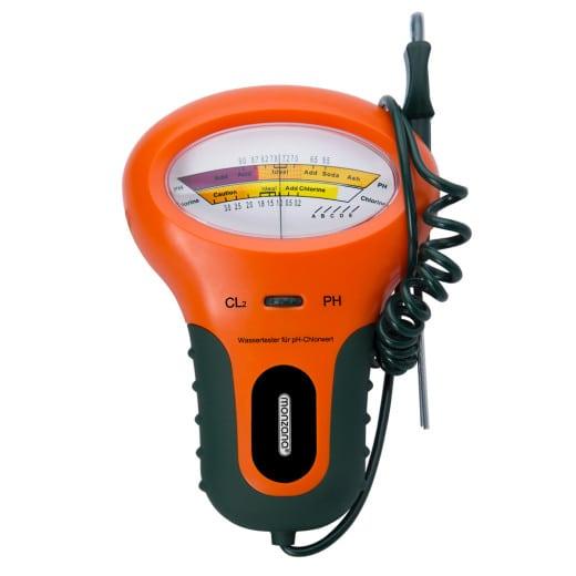 Medidor de prueba de calidad de agua PH para piscina.