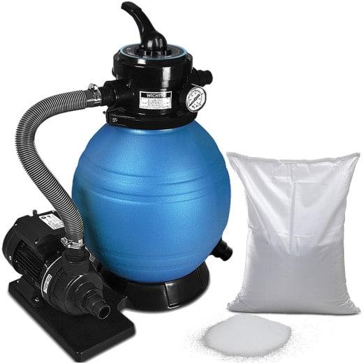 Sandfilteranlage 10.200 L/h inkl. Filterglas