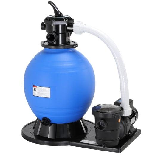 Depuradora 15.900 l/h, 600V, bomba de filtro de arena.